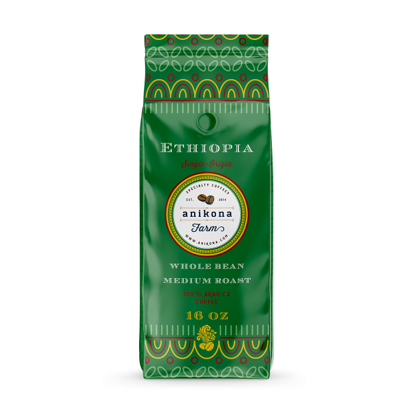 Ethiopia Arabica Coffee 16 oz